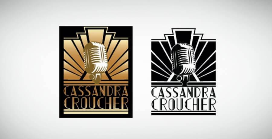 Cassandra Croucher - Art Deco Logo Design