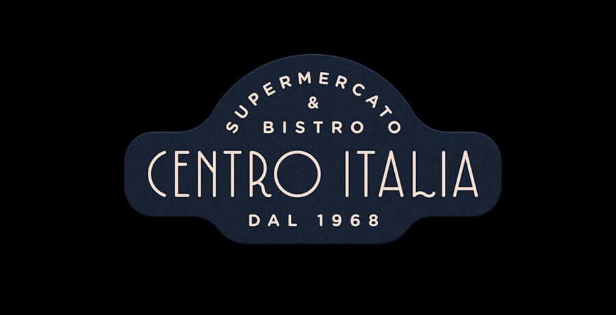 Centro Italia - Art Deco Logo