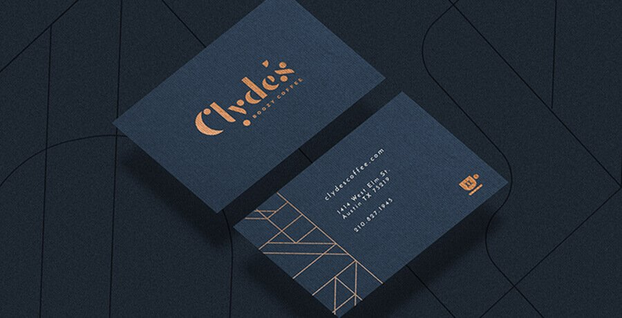 Clyde - Art Deco Logo Design