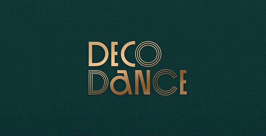 DecoDance - Art Deco Logo