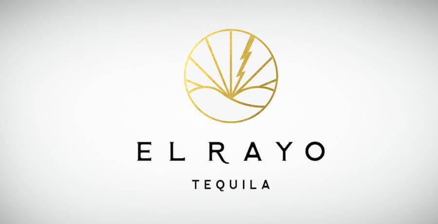 El Rayo Tequila - Art Deco Logo Design