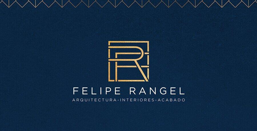 Felipe Rangel - Art Deco Logo