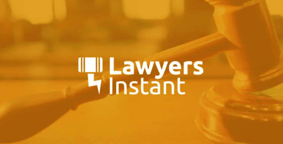 Lawyer Instant Logo - Flat Logo Designs
