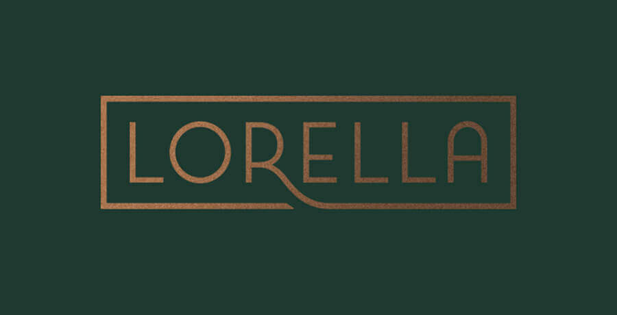 Lorella - Art Deco Logo Design