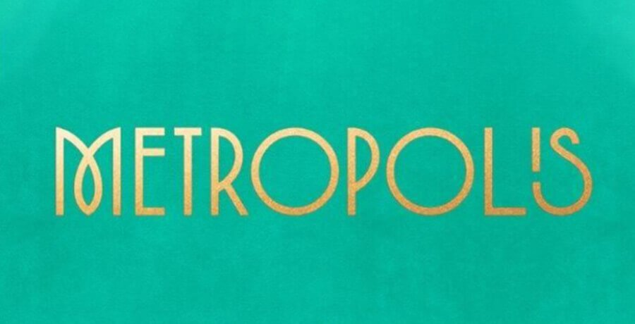 Metropolis - Art Deco Logo