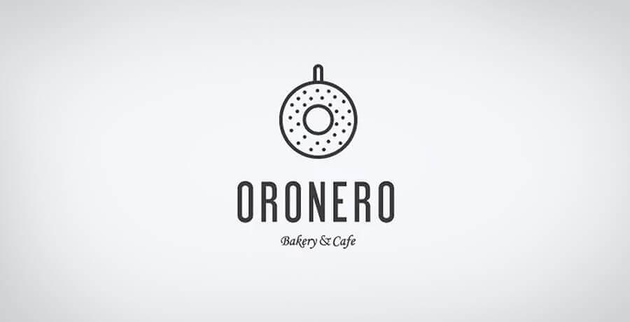 Oronero Logo - Flat Logo Designs