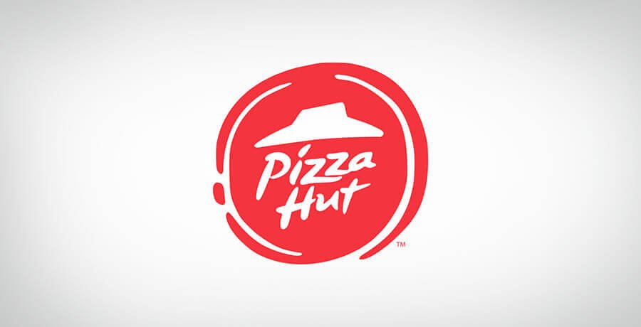 Pizza Hut Logo - Flat Logo Designs