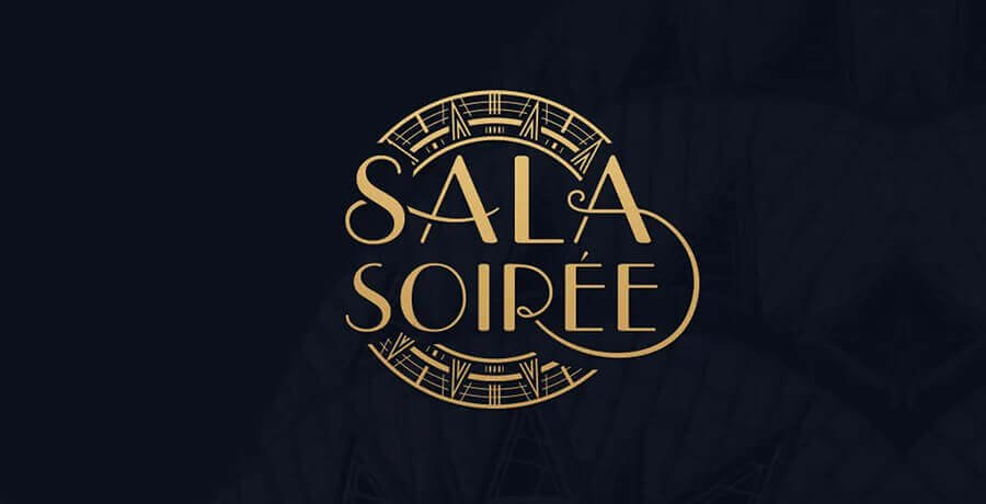 Sala Soiree - Art Deco Logo