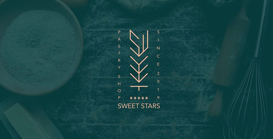 Sweet Stars - Art Deco Logo