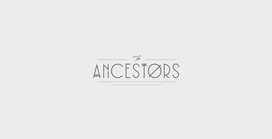 The Ancestors - Art Deco Logo