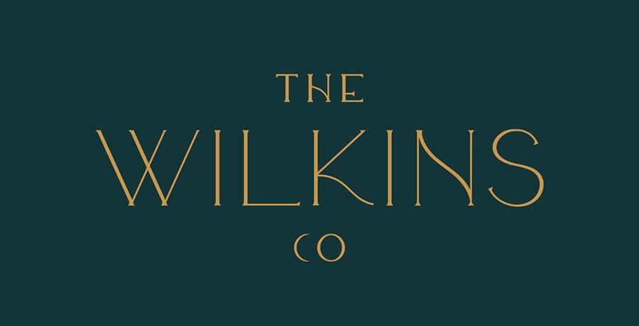 The Wilkins Co - Art Deco Logo Design