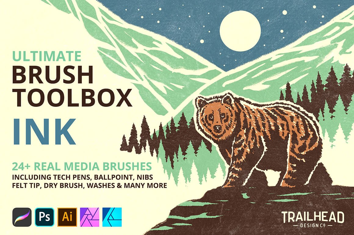 Ultimate Brush Toolbox – Ink Brushes