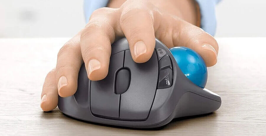 Logitech M570 - Best Computer Mouse for Designers