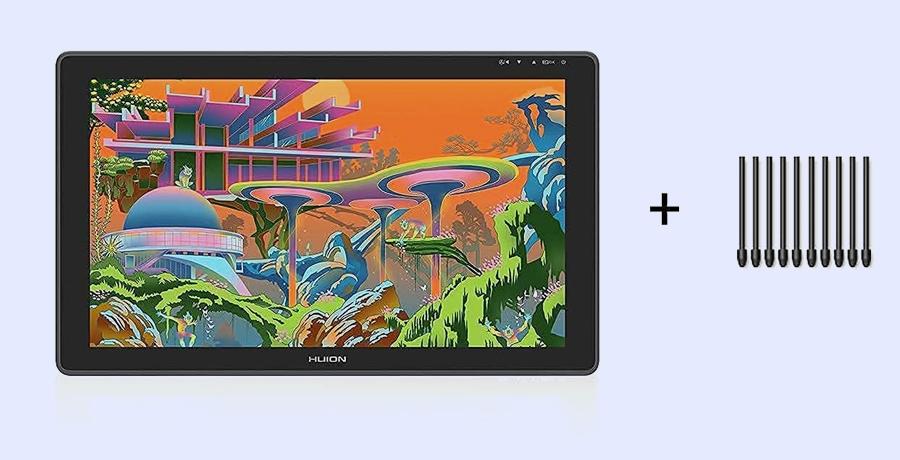 ipad Pro Alternatives - HUION KAMVAS 22 Plus Tablet