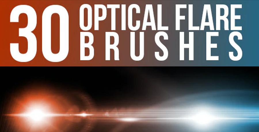 Photoshop Brushes - 30 Optical Flare Brushes