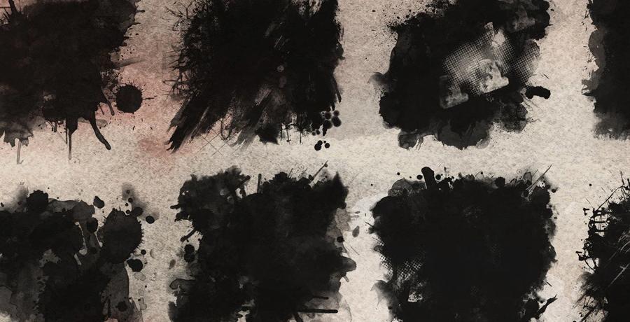 Buy Photoshop Brushes - 9 Massive Grunge Brushes