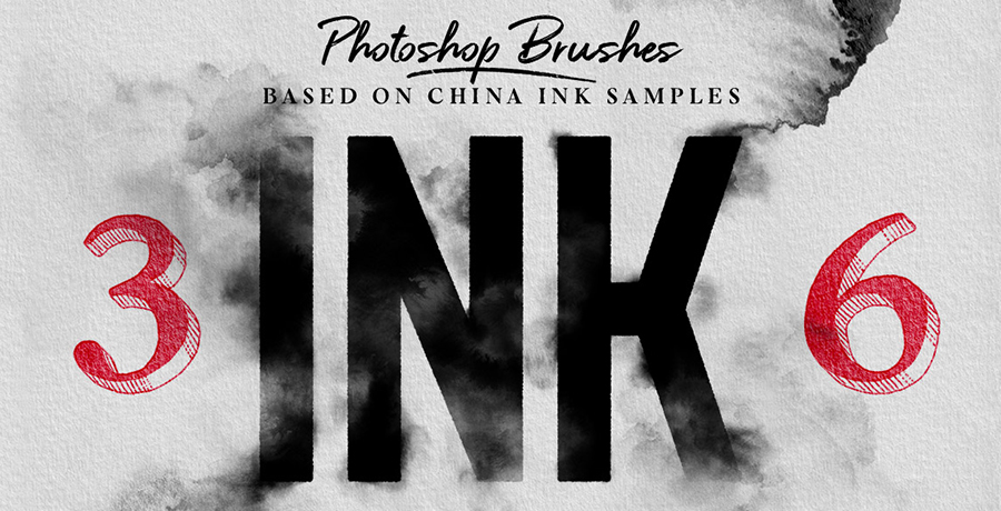 Photoshop Drawing Brushes - INK Photoshop