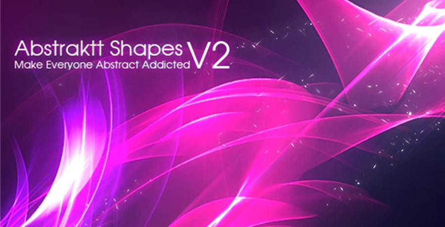 Buy Photoshop Brushes For Designers - Abstraktt Shapes V2