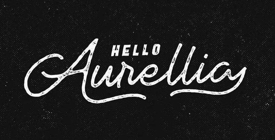Vintage Fonts - Aurellia