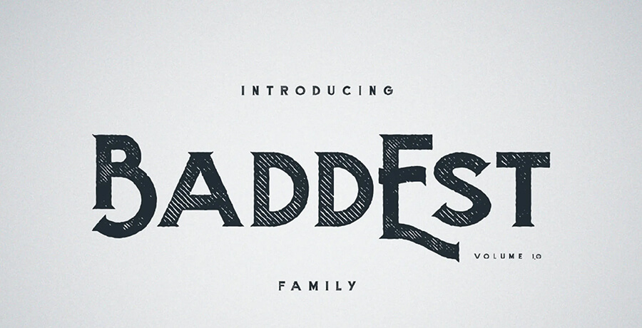 Best Font For Posters - Baddest