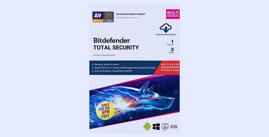 Designer Tools - BitDefender Total Security