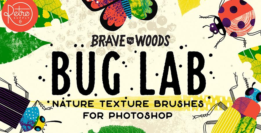 Photoshop Brushes - BugLab