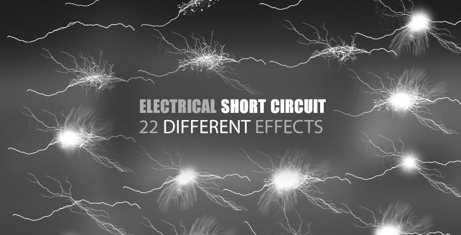 Premium Photoshop Brushes - Electrical Lightning Brushes