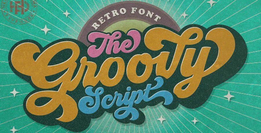Premium Retro Fonts - Groovy