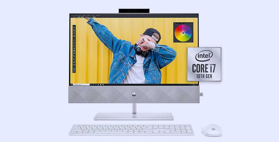 Best iMac Alternatives for 2021 - HP 24 Pavilion All in One