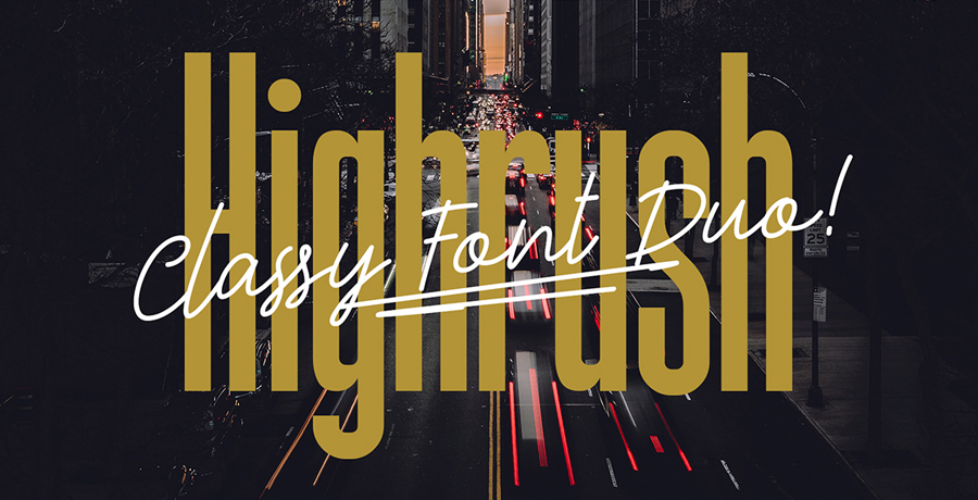 Good Font For Poster - Highrush