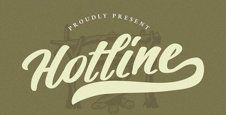 Best Vintage Font - Hotline Modern Vintage Fuente