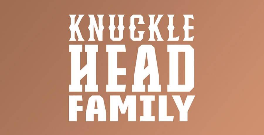 Vintage Fonts 2021 - Knucklehead