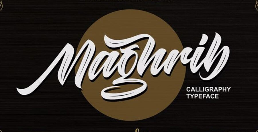 Best Vintage Font - Maghrib