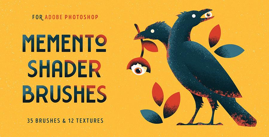 Buy Photoshop Brushes - Memento Shader Brushes