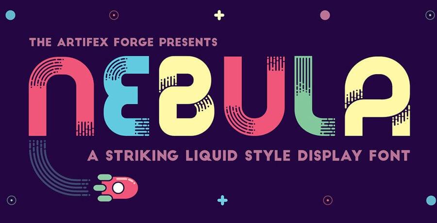 Best Font For Designers - Nebula Font
