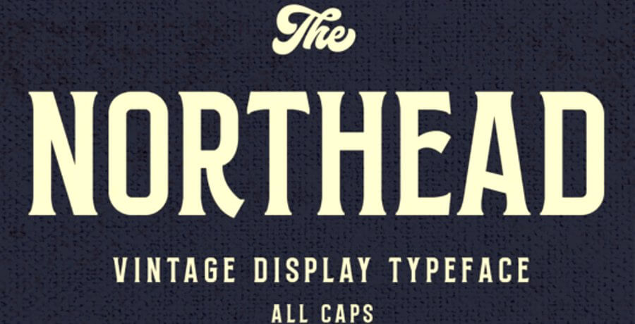 Premium Fonts For Designer - Northead Font