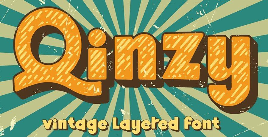 Best Vintage Font - Qinzy