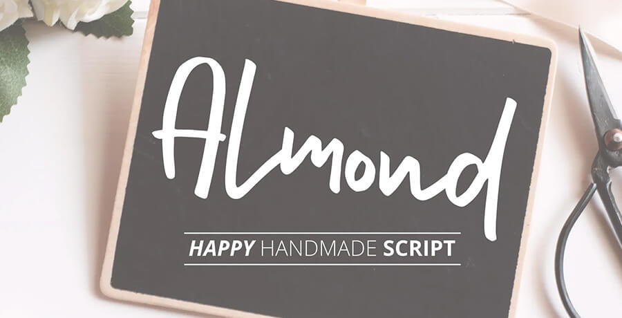 Best Poster Fonts - Almond