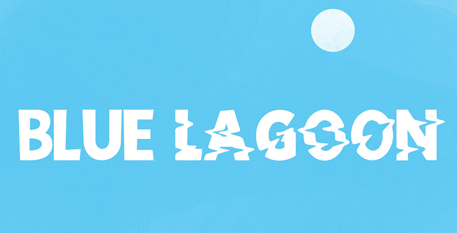 Fonts For Posters - Blue Lagon