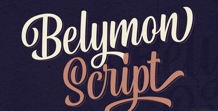 Premium Best Font For Designer - Bolymon Script