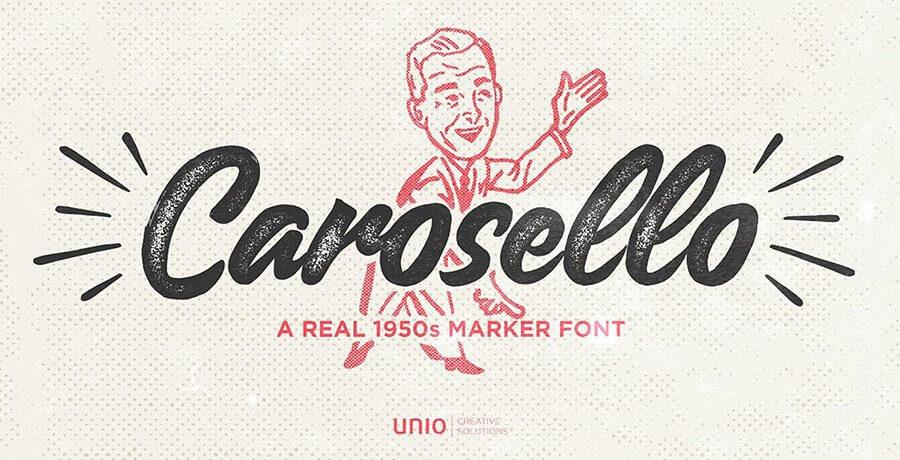Best Free Retro Fonts - Carosello