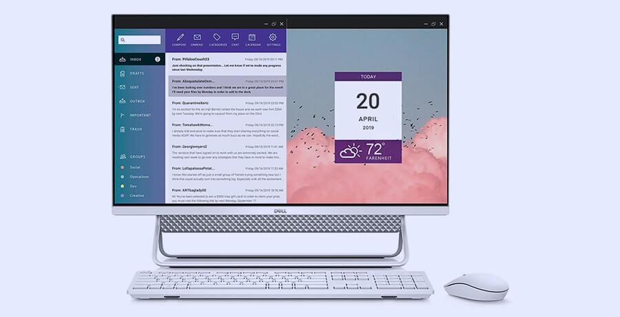 iMac Alternative in 2021 - Dell Inspiration