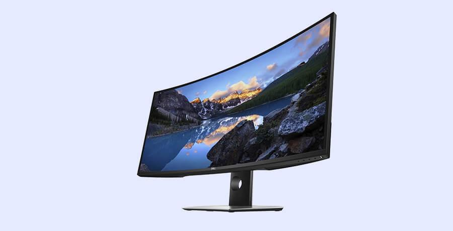 Curved Monitor - Dell U3818DW