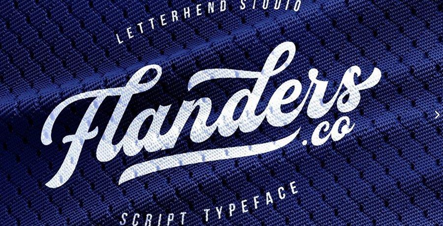 Best Vintage Font - Flander