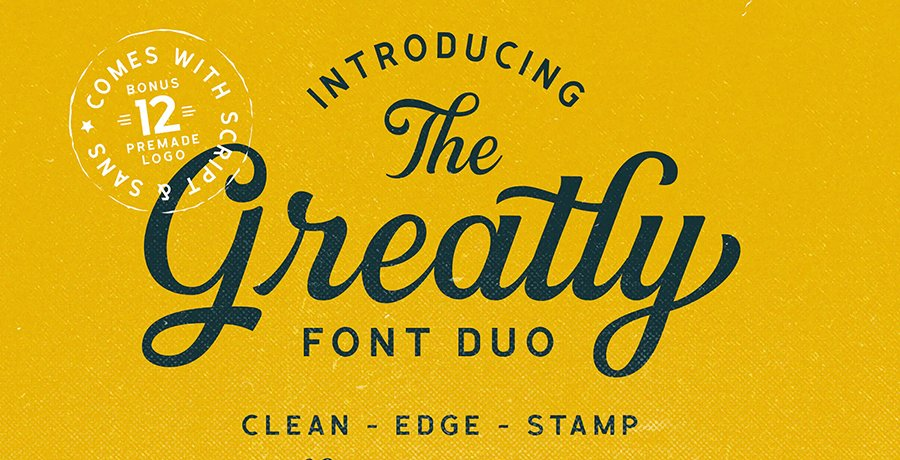Retro Fonts - The Greatly