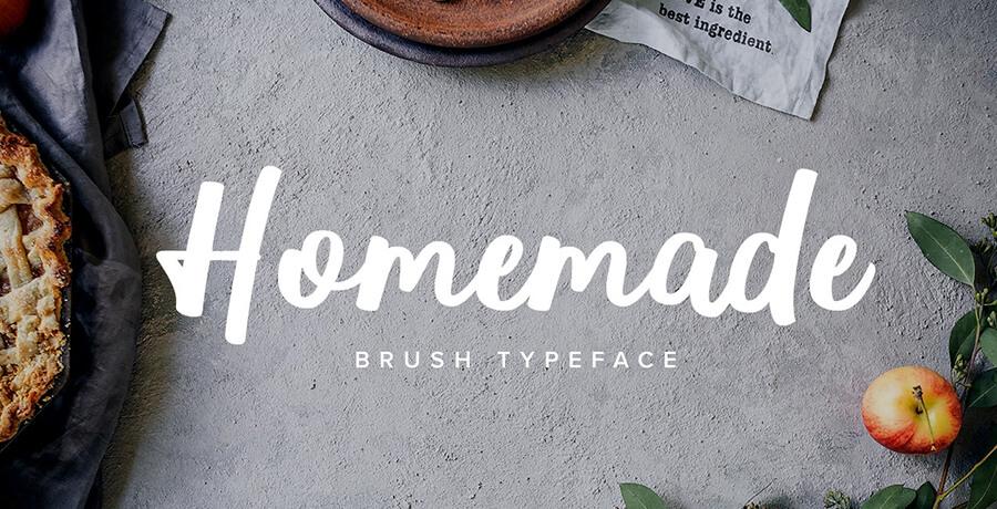 Good Font For Poster - Homemade