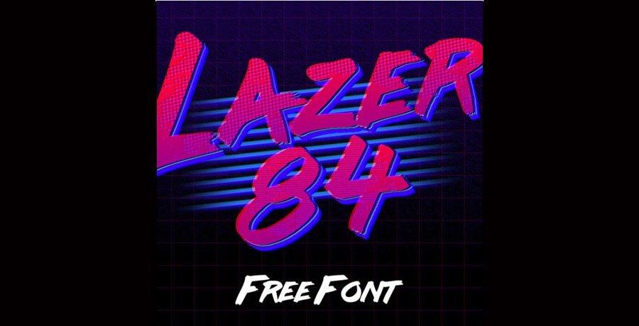 Free Fonts - Lazer