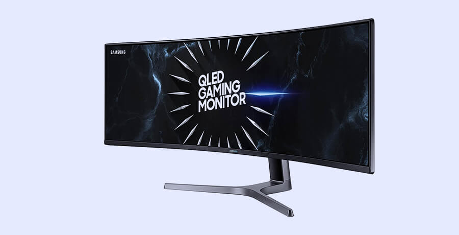 Curved Monitor For Graphic Design -  Samsung CRG9