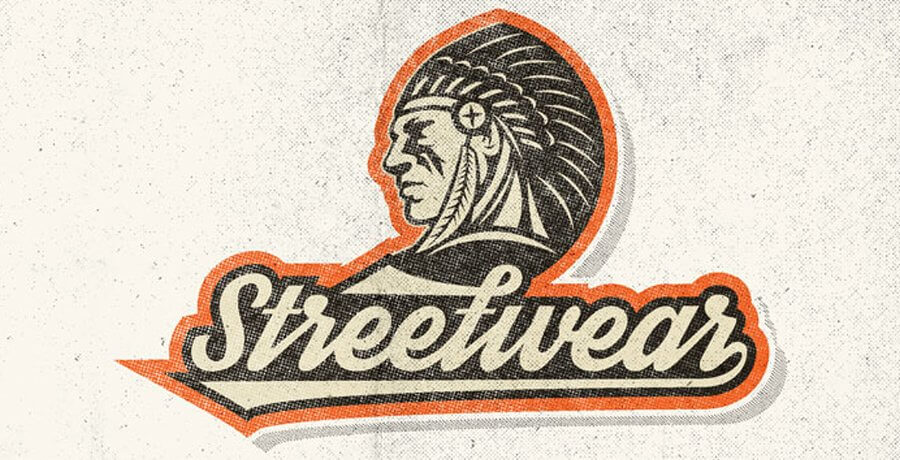 Retro Fonts - Streetwear