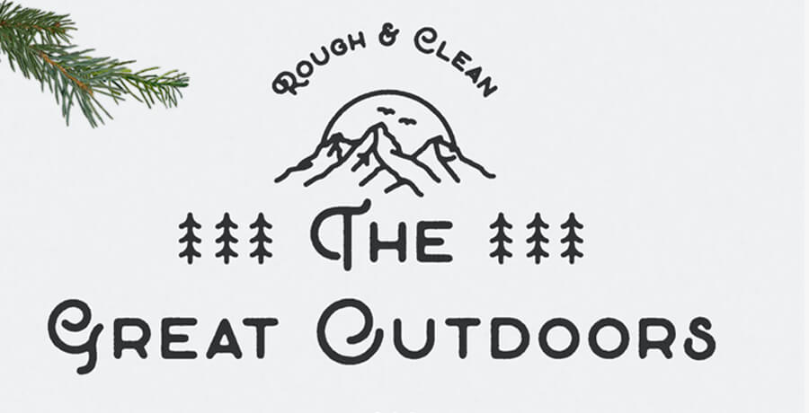 Good Font For Poster - The Great Outdoor